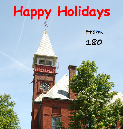 Happy Holidays from 180