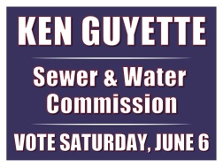 Ken Guyette for S & W Commission